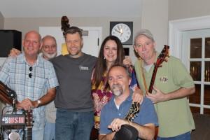 L to R: Rick Stanley, Bill Baldock, Bill Cody, Donna Ulisse, Greg Davis, front: Jon Martin